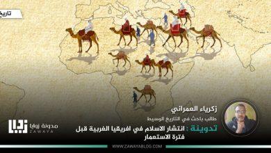 صورة انتشار الاسلام في افريقيا الغربية قبل فترة الاستعمار
